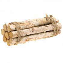Dekoracyjne drewniane plastry i kora