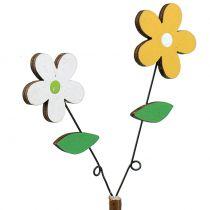 Korek dekoracyjny drewniany kwiat H44cm 6szt.