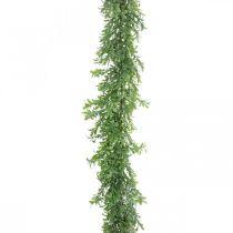 Sztuczna roślina girlanda, Boxwood Vine, zieleń dekoracyjna L125cm