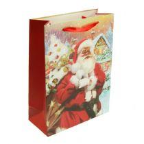 Torba na prezenty dla Ojca Świąt 32cm x 26cm x 10cm