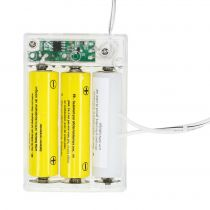 Adapter baterii biały 3m 4,5V 3 x AA