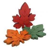Liść klonu kolorowy do rozsypania 3,5cm 72szt.