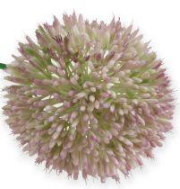 Sztuczny Allium Jedwabny Kwiat Zielony, Różowy Ozdobny Por jako Sztuczny Kwiat