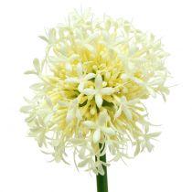 Ozdobne Allium Sztuczne Białe 51cm 4szt