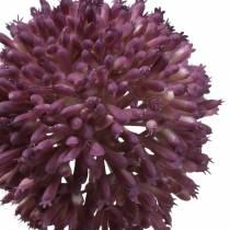 Allium ozdobne sztuczne fioletowe Ø8cm 58cm