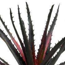 Aloe Vera sztuczny fioletowy 26cm