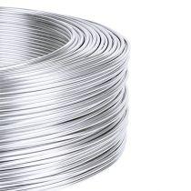 Drut aluminiowy 1mm 500g srebrny