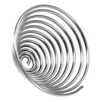 Śruba do drutu metalowa srebrna 2mm 120cm 2szt