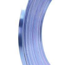 Drut płaski aluminiowy liliowy 5mm 10m