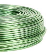 Drut aluminiowy Ø2mm 500g 60m miętowy zielony