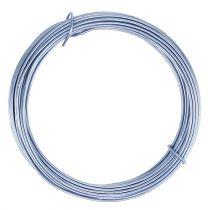 Drut aluminiowy pastelowy niebieski Ø2mm 12m