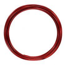 Drut aluminiowy 2mm 100g Czerwony