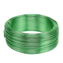 Drut aluminiowy Ø2mm Zielony 500g (60m)