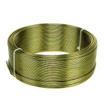 Drut aluminiowy Ø2mm oliwkowo-zielony 500g (60m)