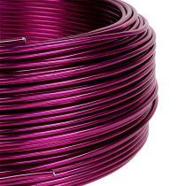 Drut aluminiowy Ø2mm różowy 500g (60m)