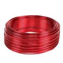 Drut aluminiowy czerwony Ø2mm 500g 60m
