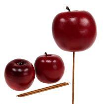 Jabłko sztuczne czerwone Ø7,5cm 6szt