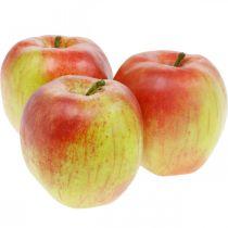 Sztuczne jabłka, owoce dekoracyjne Ø8cm 4szt.