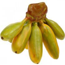 Sztuczna kiść bananów, owoce dekoracyjne, banany dla dzieci L7-9cm