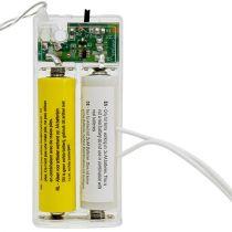 Adapter baterii 3Volt 2 x AA 3m Biały
