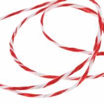 Przewód czerwony / biały 220m