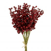 Zbierak do jagód czerwony 23cm 12szt