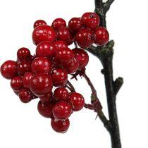 Gałąź jagodowa czerwona 50cm 4szt