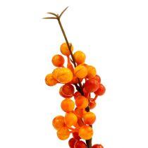 Gałąź jagodowa pomarańczowa L 30cm 12szt
