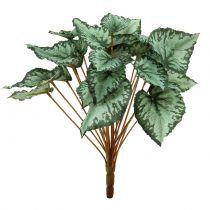 Sztuczny krzew begonii zielony 30cm