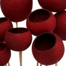 Bell Cup Mix na patyku Ciemnoczerwony 15szt