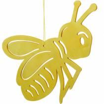 Figurka drewniana pszczoła, dekoracja wiosenna, pszczoła miodna do zawieszenia, dekoracja owad 6szt.