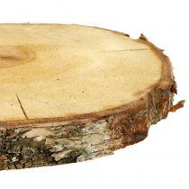 Plasterek brzozy naturalny Ø30cm - 35cm