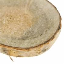 Brzoza plastry okrągłe naturalne 5cm 1kg do dekoracji z korą