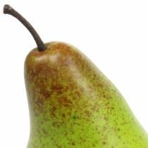 Manekin spożywczy gruszka 10,5cm Zielony 6szt