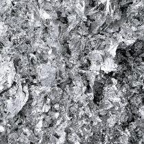 Liść metalowy srebrny płatki 15g