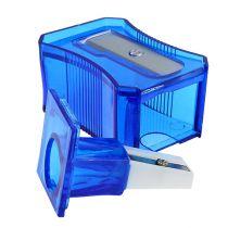 Temperówka do ołówków niebieska 6cm