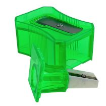 Temperówka do ołówków zielona 6cm