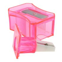 Temperówka do ołówków różowa 6cm