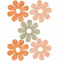 Kwiaty do rozsypania, dekoracja wiosenna, kwiaty drewniane, kwiaty do dekoracji rozsypanki 144szt.