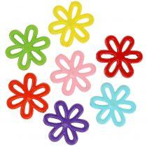 Kwiaty Ø3cm z dziurką różne 135g