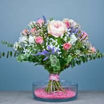Róża staroróżowa 42cm 12szt