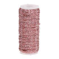 Bouillon Effect Wire Ø0,30mm 100g/140m Różowy