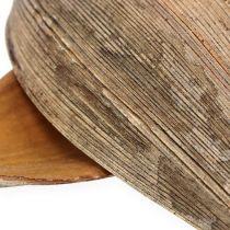 Łupina orzecha kokosowego liść kokosa natura 25szt