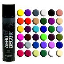 Kolor spray jedwab matowy różne kolory 400ml