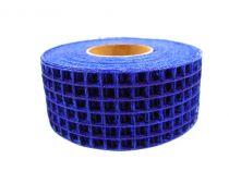 Taśma kratowa 4,5cm x 10m niebieska