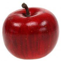 Ozdobne jabłko czerwone błyszczące 4,5cm 12szt