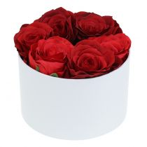 Flowerbox Flowerbox biały okrągły Ø14cm - Ø16cm 2szt.