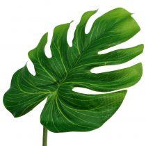 Deco Leaf Philo Leaf Green W11cm L29,5cm 3szt.