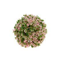 Kula dekoracyjna różowo-zielona Ø12cm 1szt
