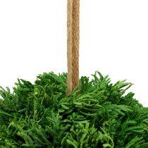 Sztuczna roślina wisząca kula zielona Ø20cm